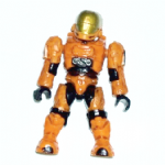 Mega Bloks Halo 97010 orange eva spartan  figure